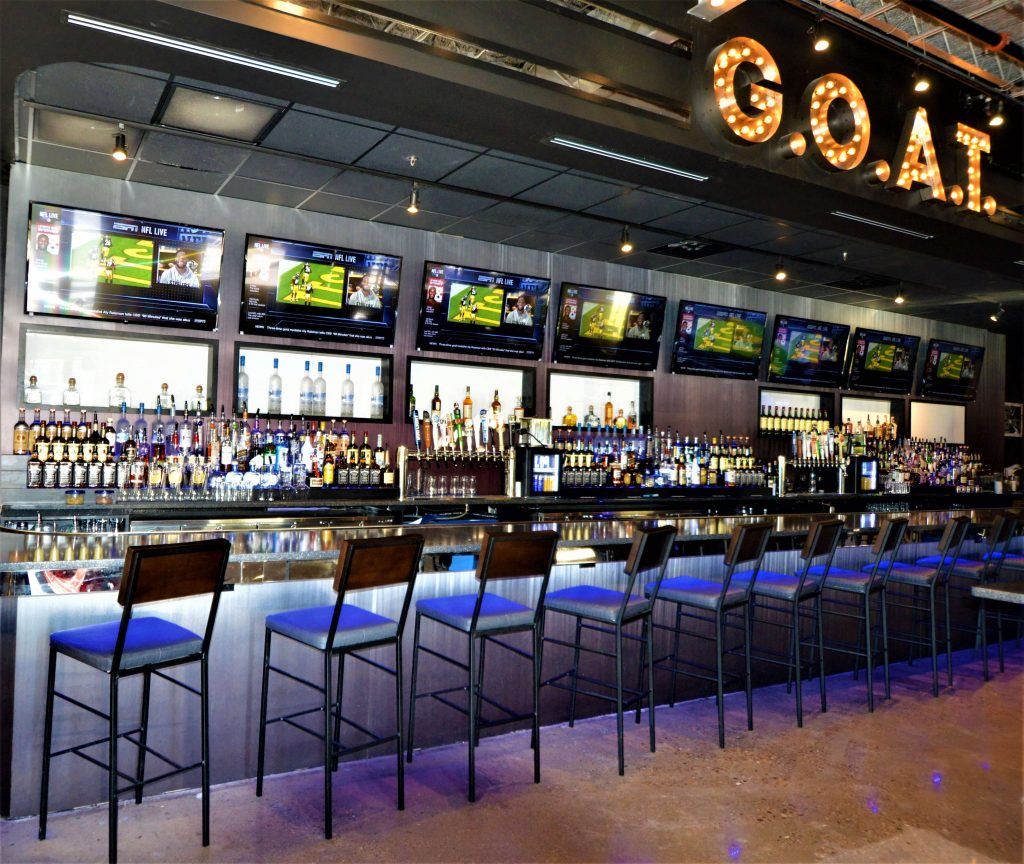 new sports bar seats and tvs (1)