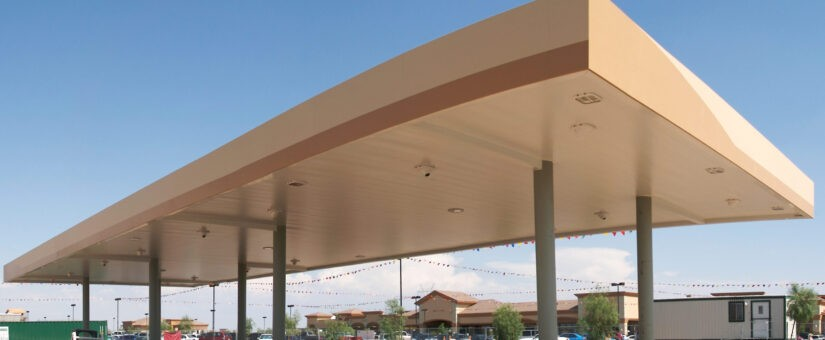 Building A Gas Station in Virginia